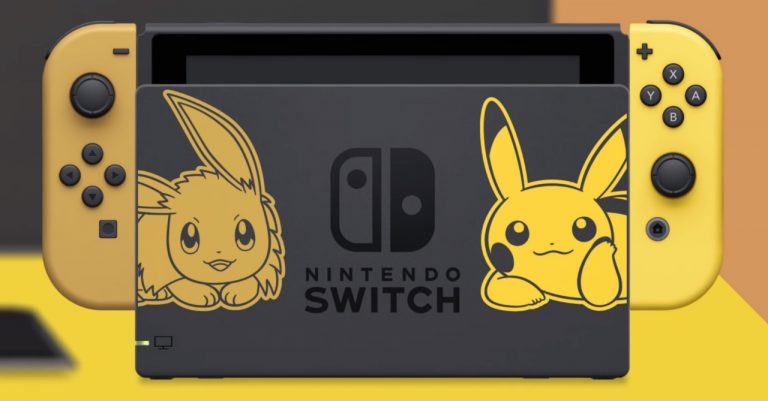 Limited-Edition Nintendo Switch Pikachu & Eevee Edition announced