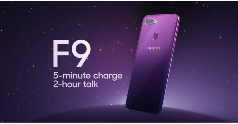 Feel Extra Fancy with the OPPO F9 Starry Purple
