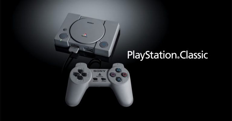 Sony reveals the PlayStation Classic, a mini PS1 with 20 pre-loaded games