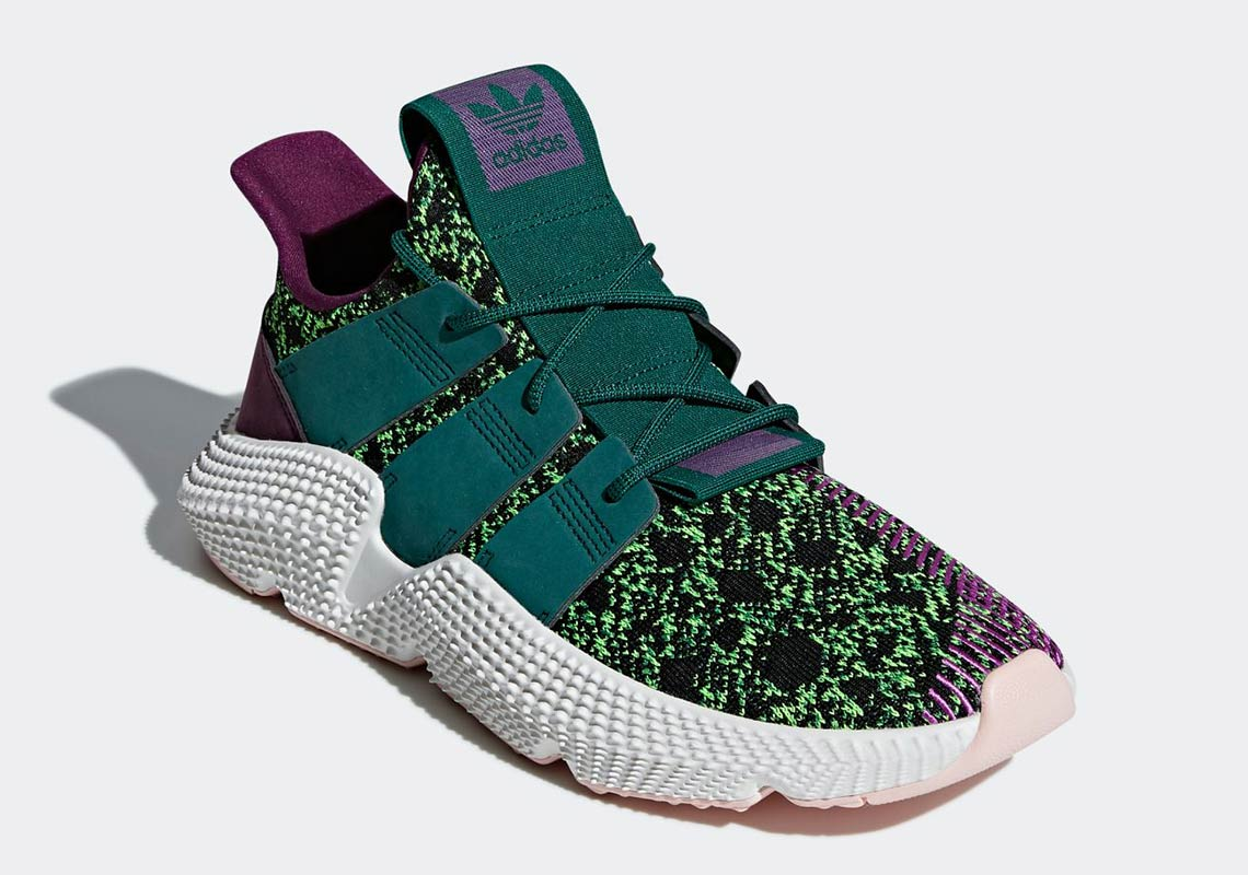89f6f863373 Adidas X Dragon Ball  Cell  Prophere and  Gohan  Deerupt releases ...