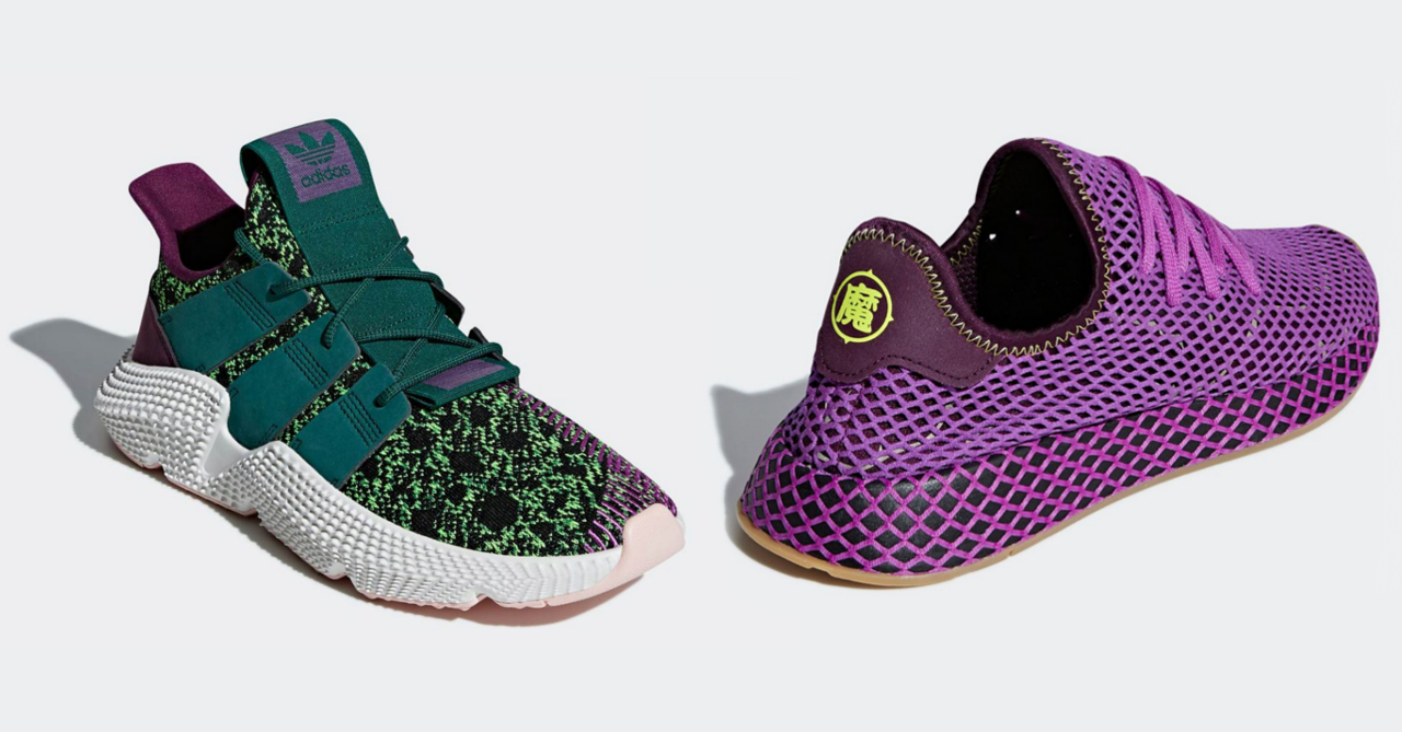 5f381fd4198ee7 Adidas X Dragon Ball  Cell  Prophere and  Gohan  Deerupt releases this month