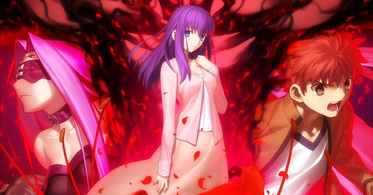 Fate Stay Night Heaven S Feel Part Ii Gets A Dark New Key Visual