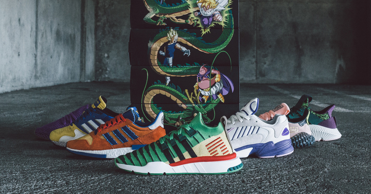 detailed look 3441d c3bb9 Heres a look at the complete Adidas x Dragon Ball collection
