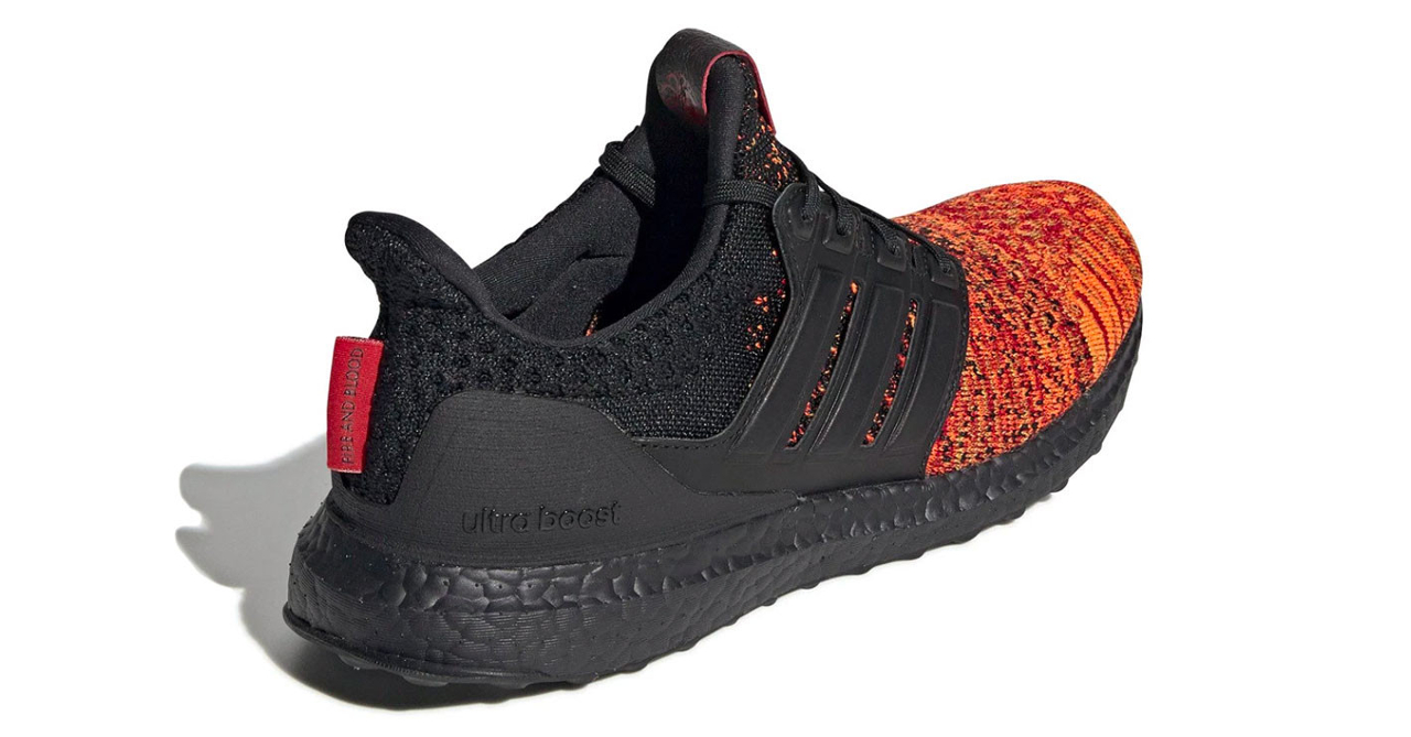 "bf26a629804 Adidas officially reveals GoT ""House Targaryen Dragons"" UltraBOOST ..."
