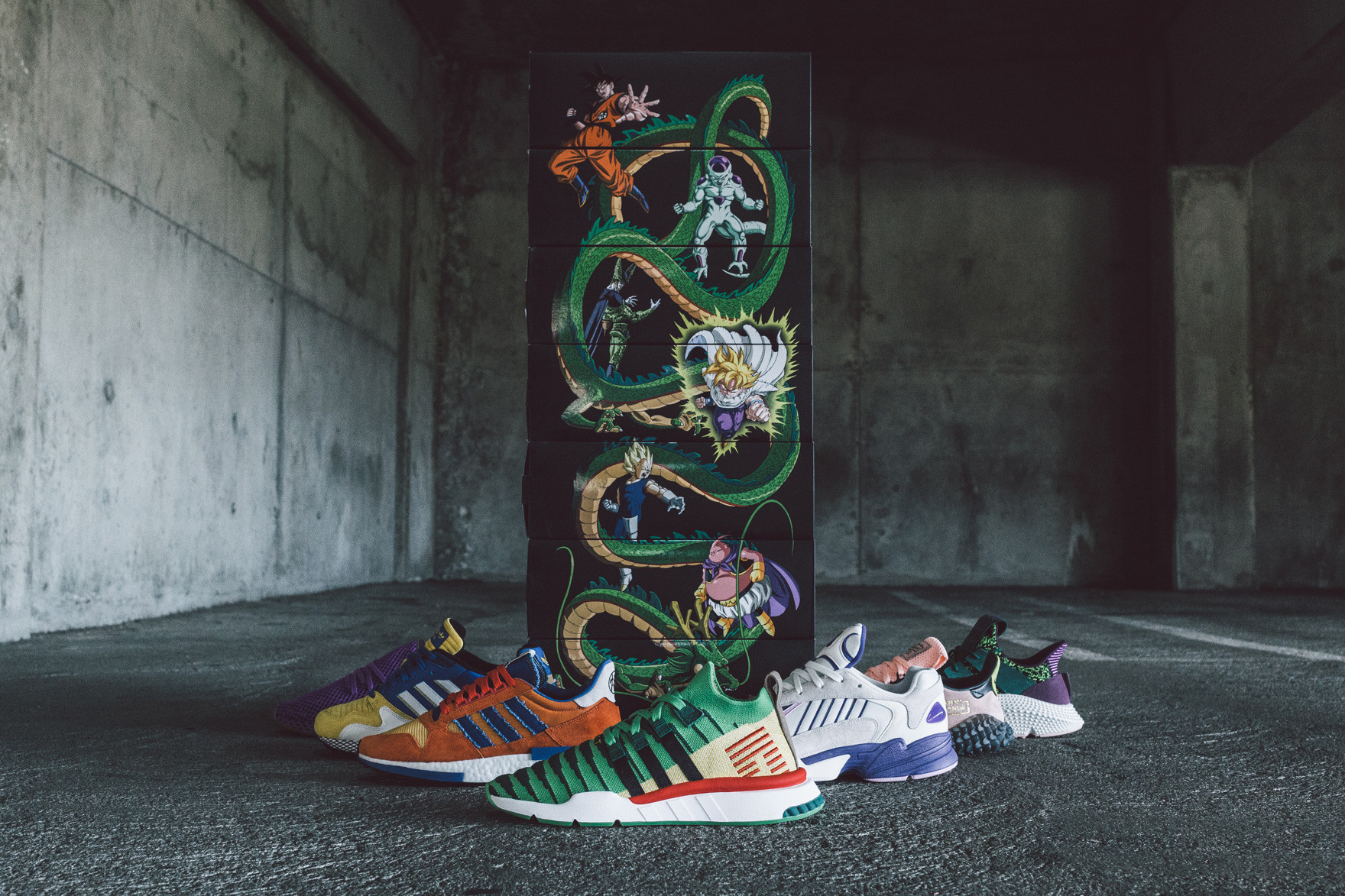 "sports shoes e3274 73bec Of the seven sneakers in the Adidas x Dragon Ball line, only four have been  officially released in the Philippines so far — the ""Son Goku"" ZX 500 RM,  ..."