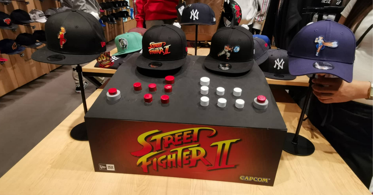 The New Era X Street Fighter caps are the perfect headwear for Fighting  Game fans 6c633295b12