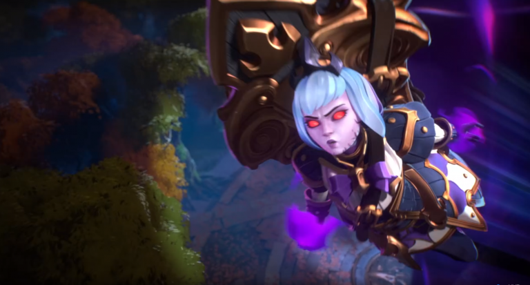 """[BlizzCon 2018] Heroes of the Storm reveals its first original character, """"Orphea"""""""