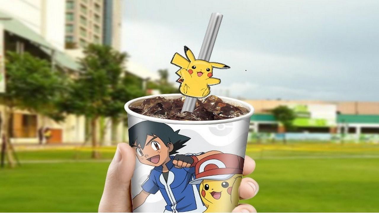 Catch Em All At 7 Eleven With The Gulp Pokémon Metal Straw Promo