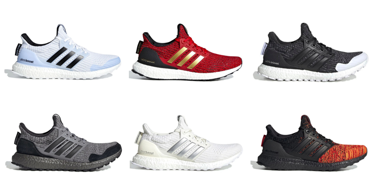 32e1ff8e784df Here s a look at the complete Game of Thrones x Adidas UltraBOOST line