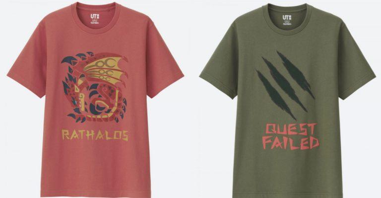 Uniqlo unveils its new Monster Hunter UT shirt line
