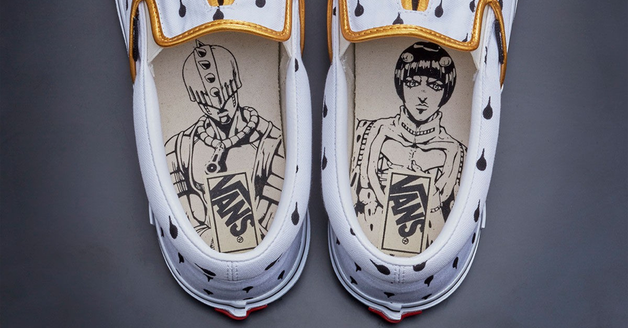 a1069dc7332b Vans teams up with JoJo s Bizzare Adventure for new sneaker collection