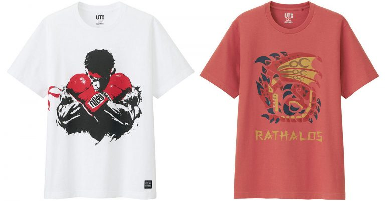 Uniqlo Street Fighter and Monster Hunter UTs are releasing in the PH