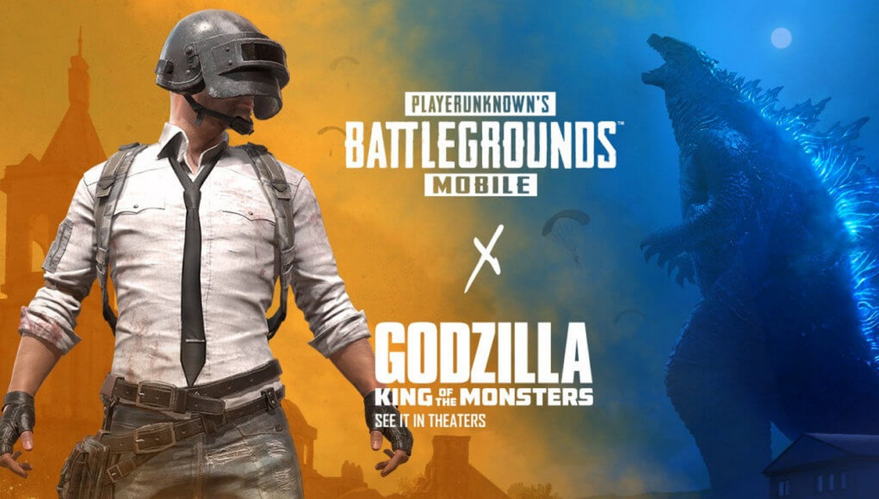 pubg mobile x godzilla  king of the monsters crossover