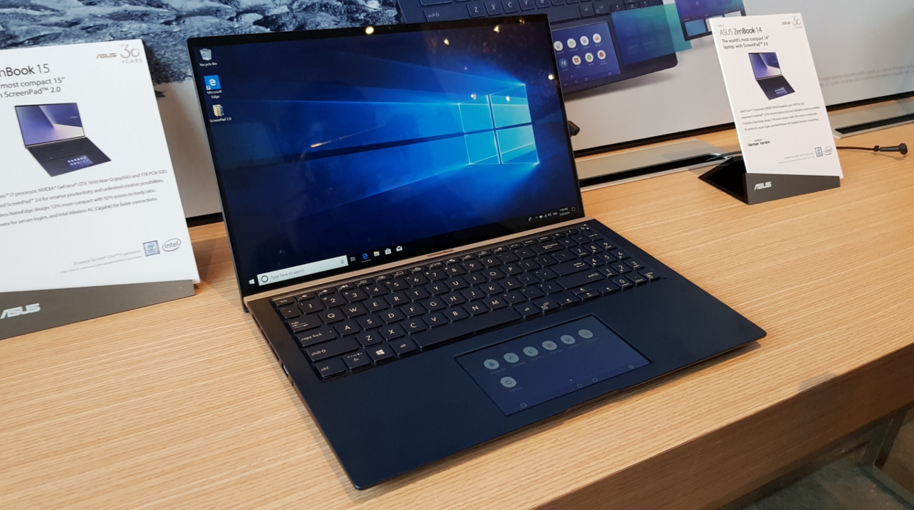 ASUS updates the ZenBook and VivoBook lines with ScreenPad