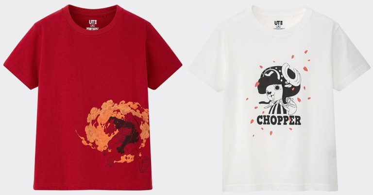 Uniqlo UT unveils new 'One Piece' graphic tee collection