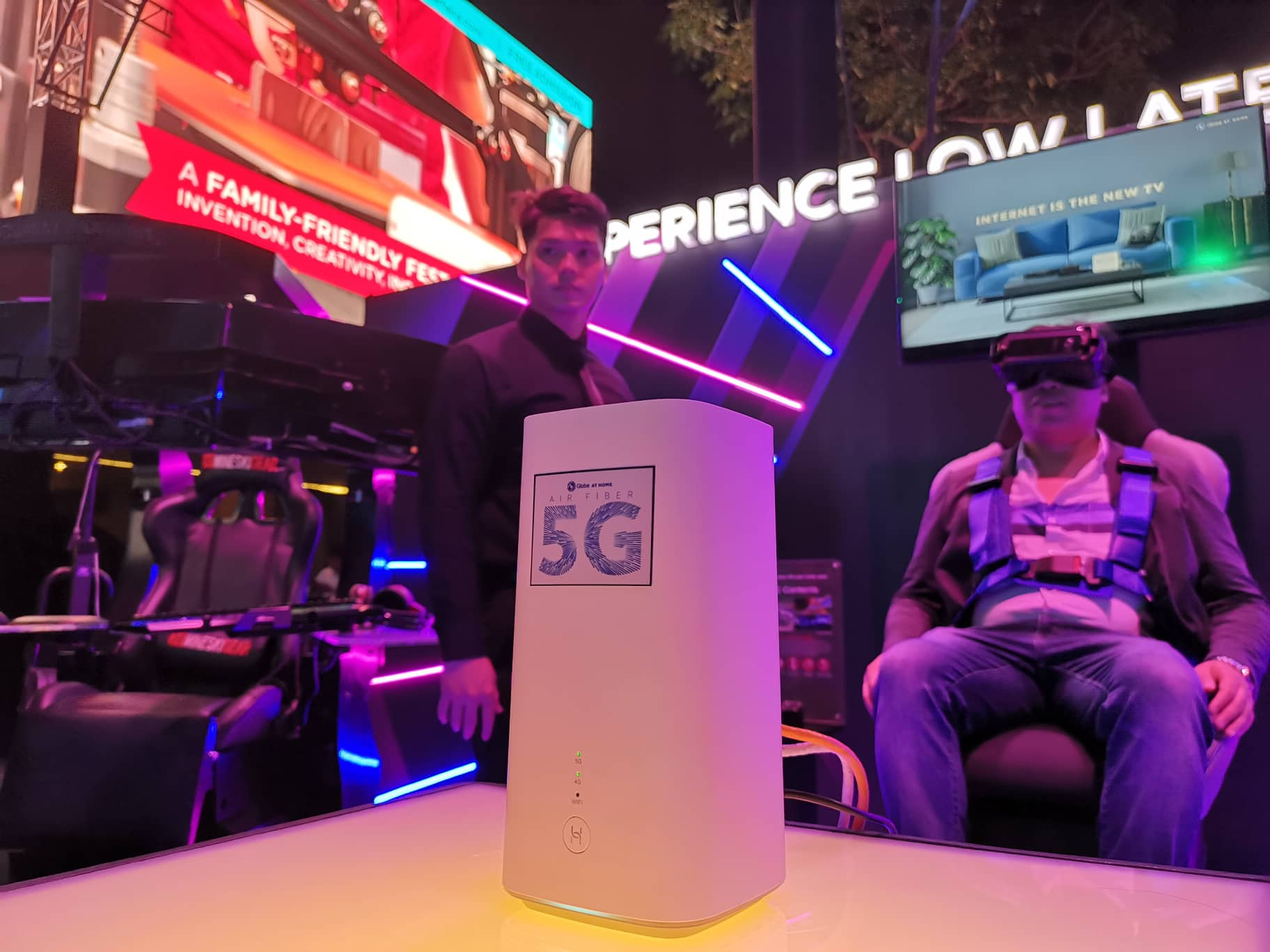 Globe at Home Air Fiber 5G unveiled