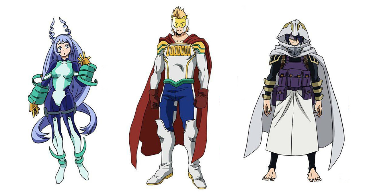 Here Are The Official Character Designs For My Hero Academia S4 S Big 3 Ungeek
