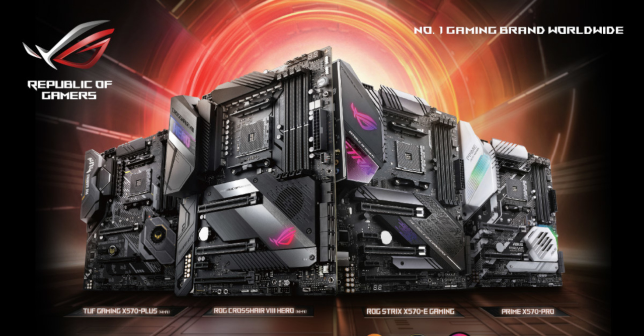 Asus Announces Pricing Of Amd X570 Series Motherboards In The Ph