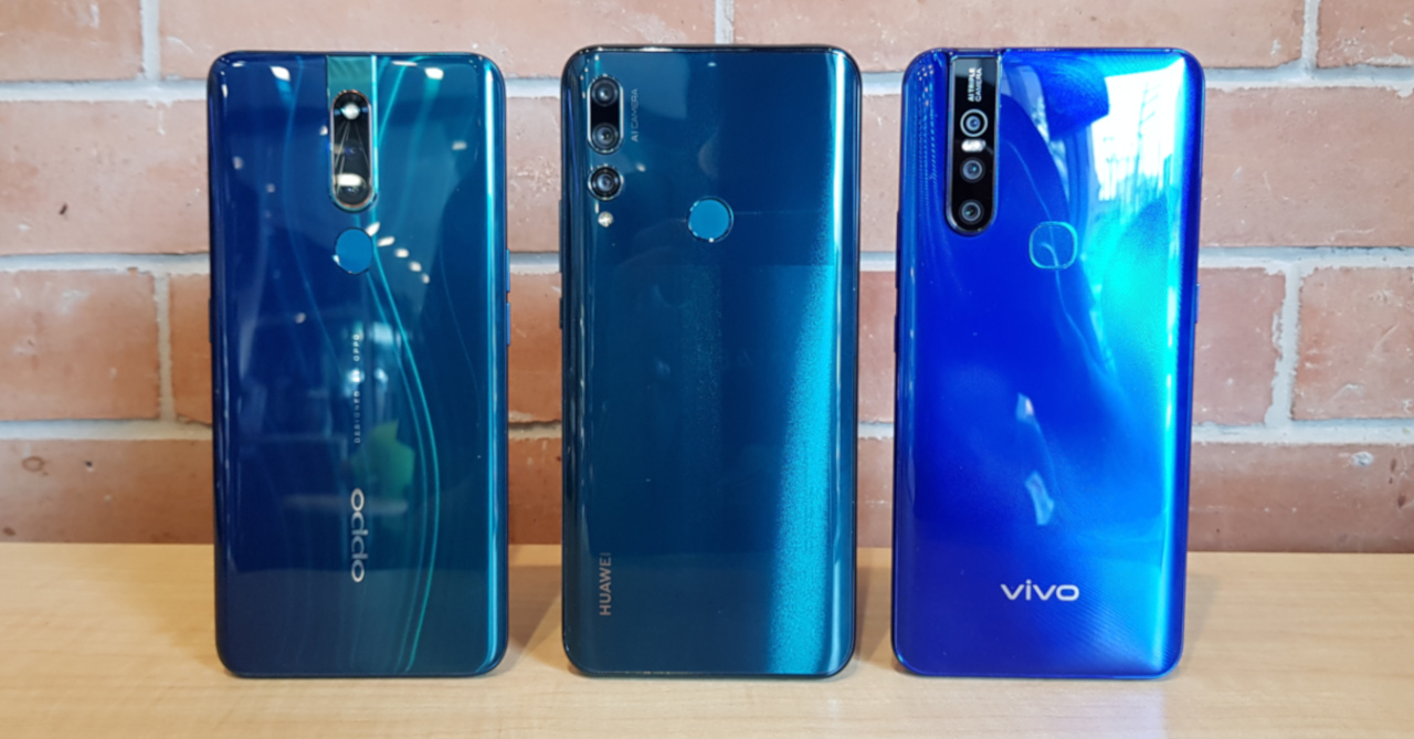 Among the year's pop-up camera phones, the Huawei Y9 Prime