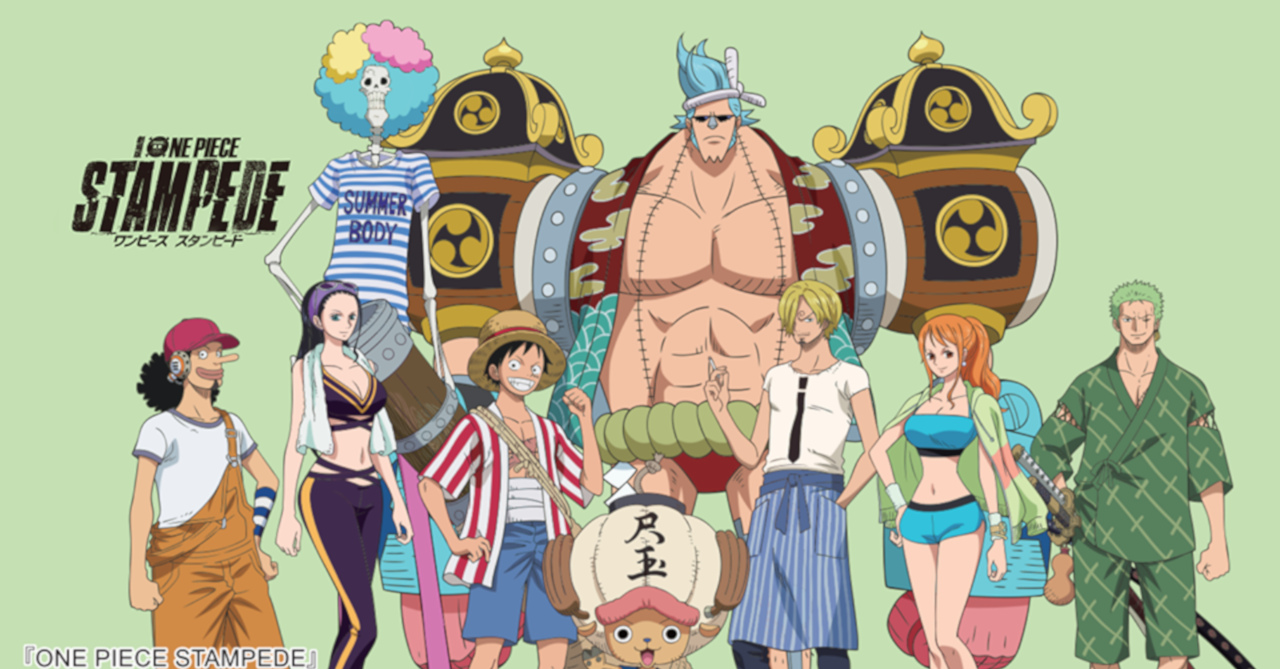 'One Piece Stampede' graphic tees now available in PH ...