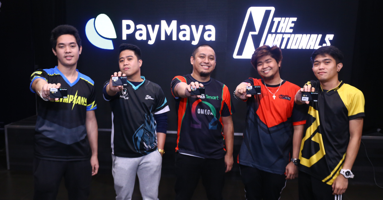 PayMaya supports PH esports with The Nationals partnership | Ungeek