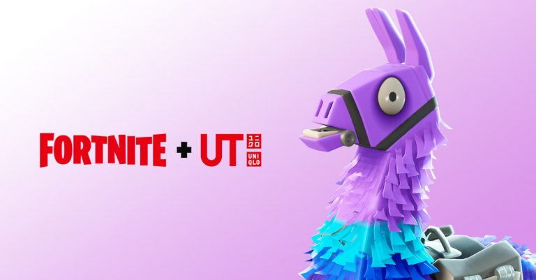 Uniqlo UT and Fortnite collab for a graphic tee line