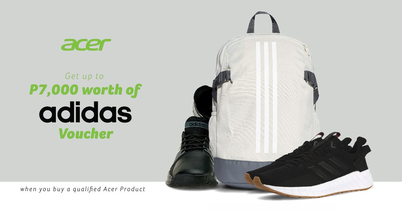 acheter populaire bb6d7 98f40 Acer extends its Back-to-School promo with Adidas   Ungeek