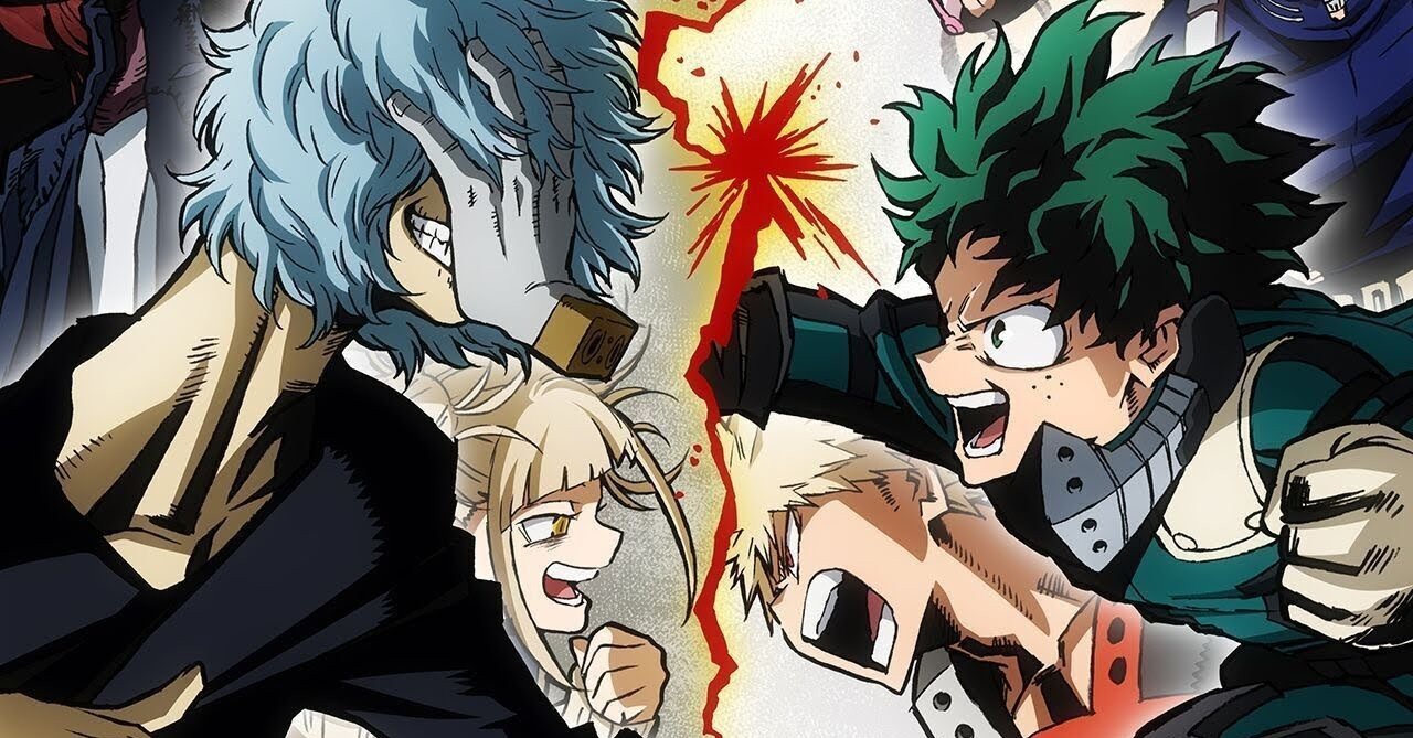 The Five Best Battles Of The My Hero Academia Anime So Far