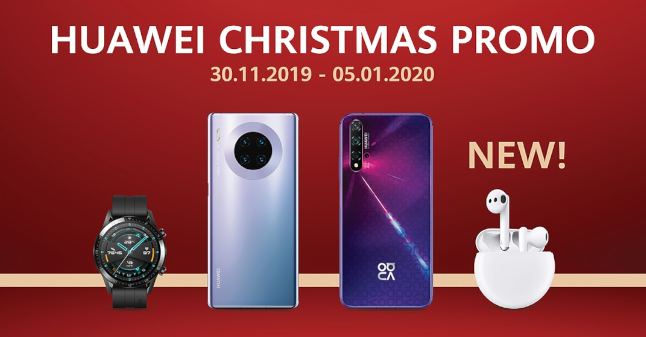 Huawei Christmas 2020 Huawei celebrates the holiday season with its 'Together 2020