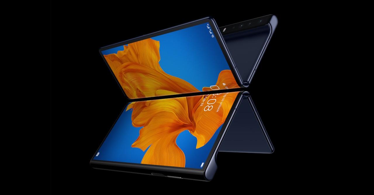 Resultado de imagem para New Huawei Mate X2 image confirms inward fold