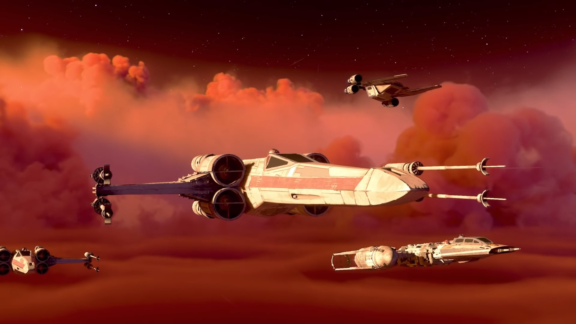 Star Wars Squadrons Gameplay Reveal EA Play 2020
