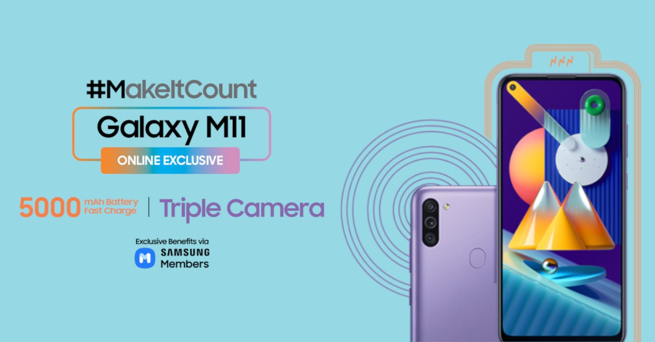 The Samsung Galaxy M11 Is Now Available In The Philippines