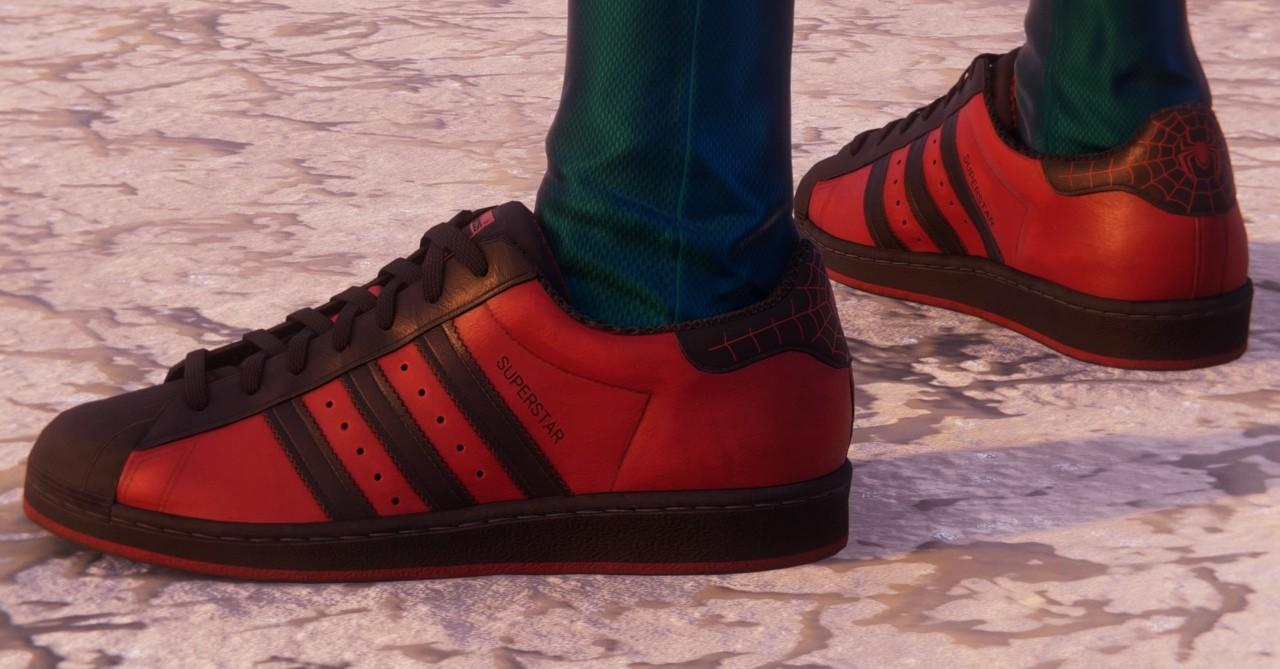 elevación Debilidad Inesperado  PlayStation teams up with Adidas for 'Spider-Man: Miles Morales' Superstar