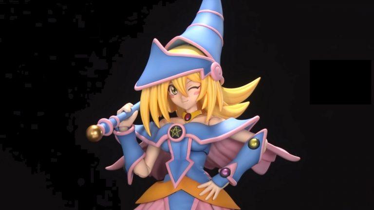 Kotubukiya unveils the 'Dark Magician Girl'  Cross Frame Girl model kit