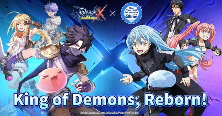 Ragnarok X: The Next Generation x That Time I Got Reincarnated as a Slime collab announced