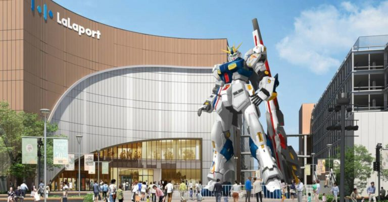 Another life-size Gundam statue is coming to Japan in 2022