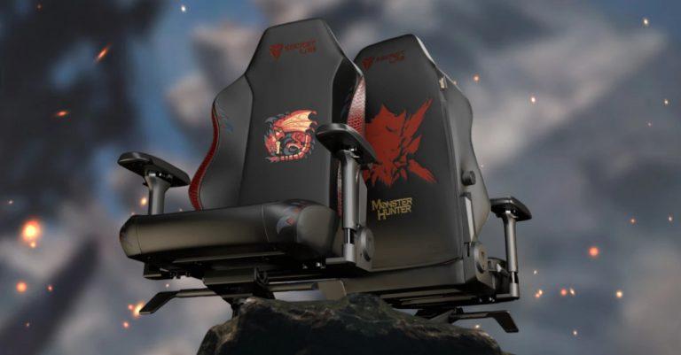 Secretlab unveils the Monster Hunter edition TITAN Evo 2022 gaming chair