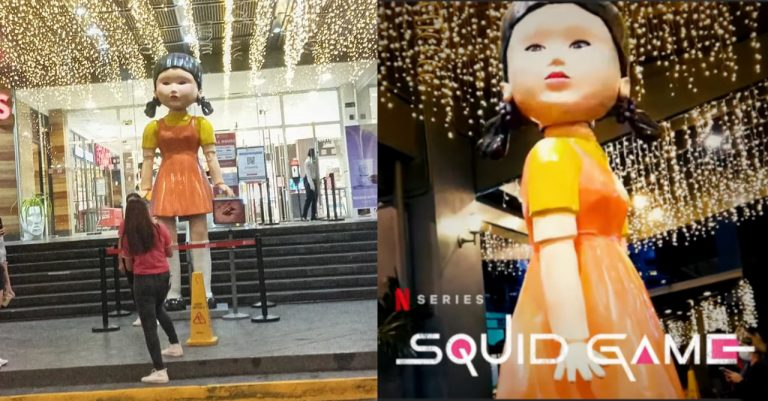 The Doll from 'Squid Game' makes an appearance in Metro Manila