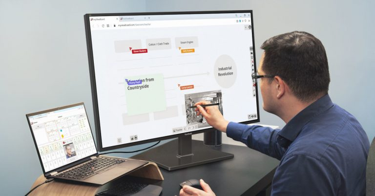 ViewSonic introduces the ViewBoard 4320 display for hybrid work